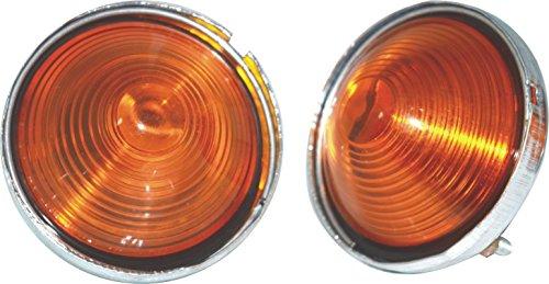 NEW COMBINATION PARKING OR TURN SIGNAL AMBER LIGHT WILLYS JEEP CJ-3B CJ3 CJ5 CJ6