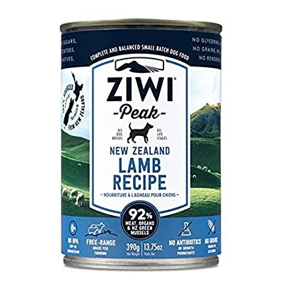Ziwipeak Canned Lamb Dog (12 Pack, 13.75 oz. each), 1 Case