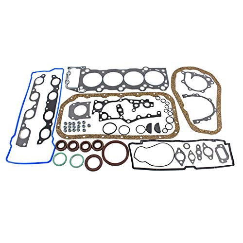DNJ Full Gasket/Sealing Set FGS9057 For 91-97 Toyota/Previa 2.4L L4 DOHC Supercharged, Naturally Aspirated designation 2TZ-FZE,2TZ-FE