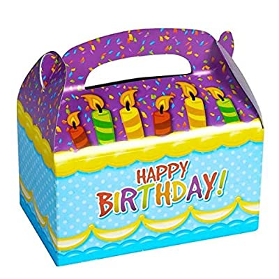 "6.25"" HAPPY BIRTHDAY TREAT BOXES: Toys & Games"