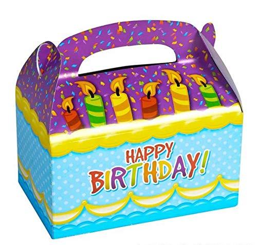 Happy Birthday Treat Bags - Rhode Island Novelty 6.25