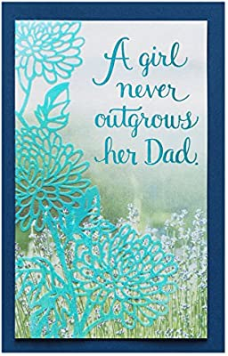 American Greetings My Hero Birthday Greeting Card For Dad From Daughter With Foil