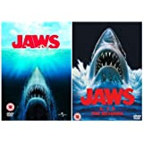 The Complete Jaws DVD Movie Collection: Part 1, 2, 3 and 4 + Extras [4 Discs]