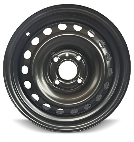 114.3 Replica Wheel (New Black Nissan Sentra 15 Inch Steel Rim Full Size Replica Spare Wheel (15x6.5