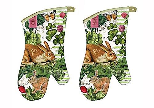 Michel Design Works Garden Bunny Oven - Mitt Oven Garden