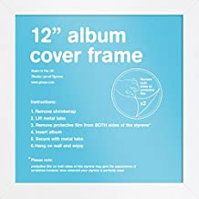 "GB eye FMALA1WH White 12"" Record Sleeve Album Frame"