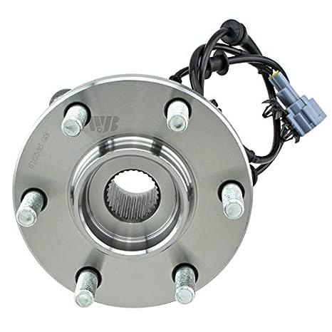 1 Pack WJB WA515065HD Heavy Duty Version Front Wheel Hub Assembly Wheel Bearing Module Cross Timken SP450701 Moog 515065 SKF BR930638