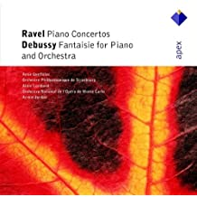 Ravel: Piano Concerto in D major 'for the left hand', Concerto for Piano and Orchestra in G major / Debussy: Fantaisie for Piano and Orchestra