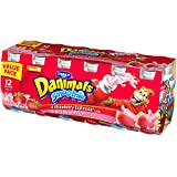 Dannon, Danimals Smoothies, Wild Watermelon and Strawberry Explosion, 3.1 oz, 12 pack