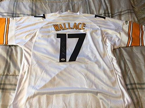 - Mike Wallace Autographed Signed Autograph On Field Reebok Steelers Jersey PSA/DNA