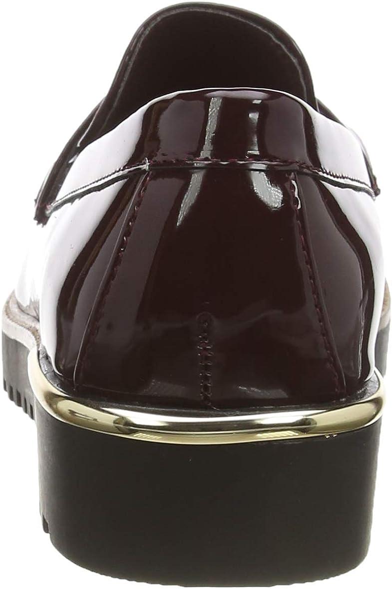 Rouge Dark Burgundy 67 40 EU New Look Kettle-IC PU Chnky Lfr s207 Mocassins Femme