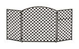 "Best Benzara Fireplaces - Benzara 50361 Long-Lasting Metal Fire Screen, 52"" W Review"
