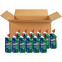Clorox Toilet Bowl Cleaner with Bleach, Fresh Scent, 24 Ounces (Pack of 12)