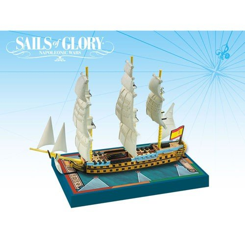 Sails Of Glory - Ship Pack - - - Argonauta 1806 Spanisch SOL 5b17e5