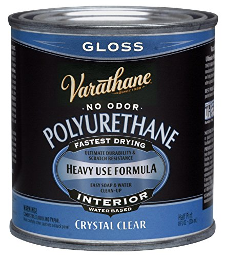 Varathane 200061H 1/2 Pt Gls Interior Water-Based Diamond Polyurethane Finish