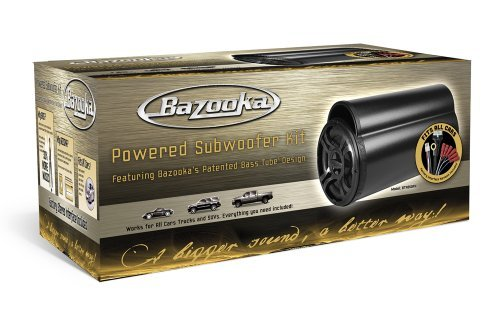 Bazooka Amplified Tube Subwoofer 4
