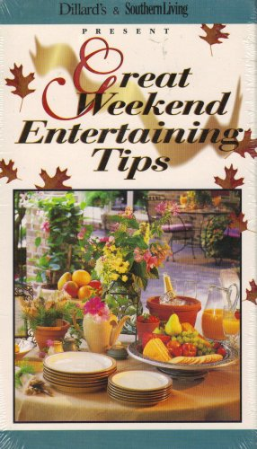 Great Weekend Entertaining Tips : Decorating, Time-saving Meal Preparation , Party Planning