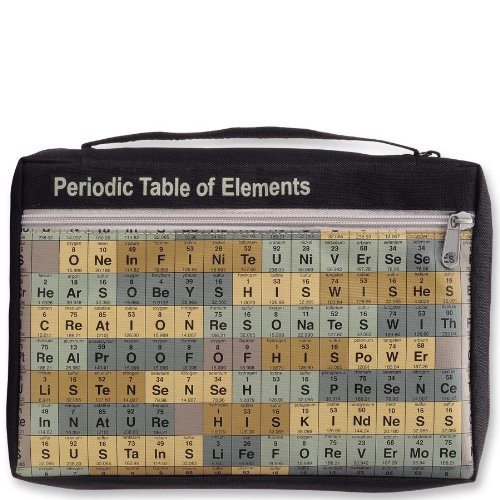 High Quality Gregg Redeemed Bible Cover Periodic Table Of
