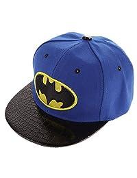 amazingdeal Kids Hip-Hop Snapback Batman Baseball Cap Children Sports Hats