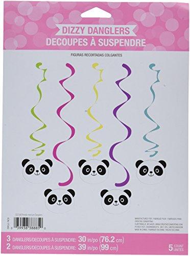 Creative Converting Panda-monium Decorative Hanging Streamers (5 Count)
