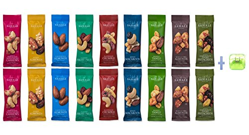 Sahale Snacks All Natural Nut Blends Grab And Go Variety Pack (9 FLAVOR-18PK)