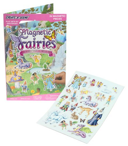 Create-A-Scene Magnetic Playset - - Magnetic Fairies Playboard