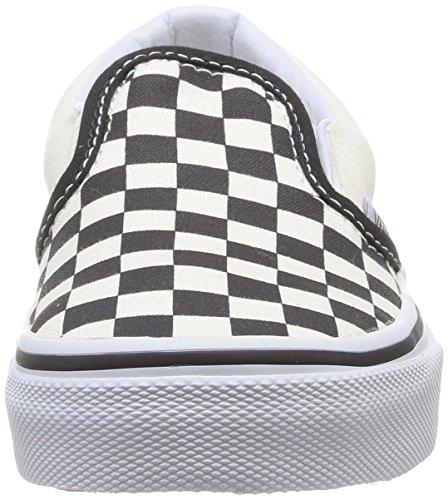 Slip Classic Little Black White Big Vans on Kids' TEnPEqf
