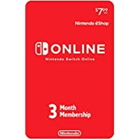3 Months Membership For Nintendo Switch Online