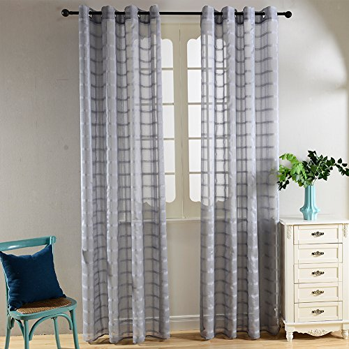 Decorative Curtains for Living Room Amazoncom