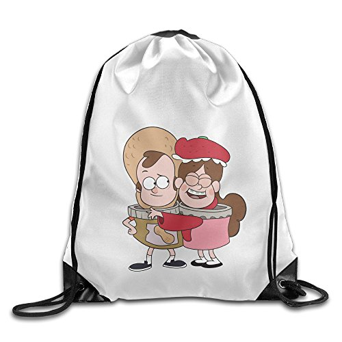 Mabel And Dipper Costume (YYHU Gravity Falls Mabel Pines And Friends Training Gymsack - Great For Travel And Everyday Life)