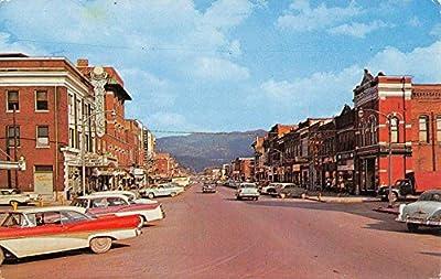 Middlesboro Kentucky Cumberland Ave Historic Bldgs Vintage Postcard K52903