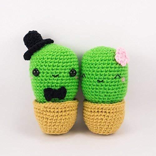 CROCHET PATTERN: Amigurumi Cactus Crochet Cactus Pattern | Etsy | 500x500