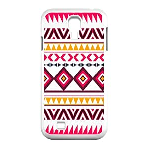Winfors Aztec Tribal Phone Case For Samsung Galaxy S4 i9500 [Pattern-1]