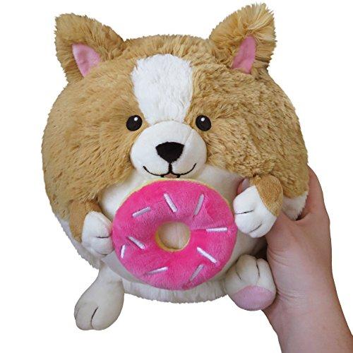 Squishable / Mini Corgi Holding a Donut Plush - 7