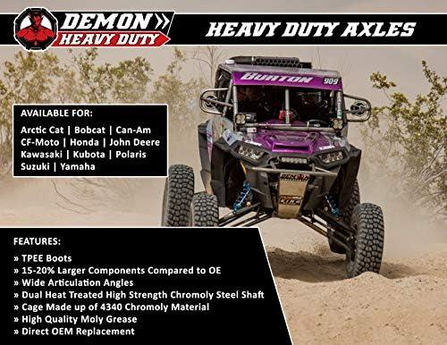Demon Powersports Left PAXL-31002HD Heavy Duty Axle Kubota RTV 1100Back
