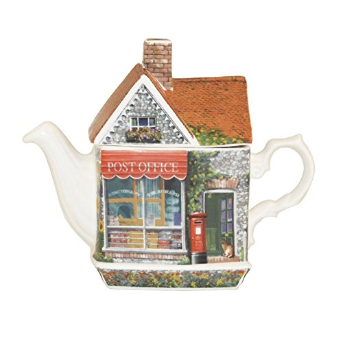 Post Office Traditional English Teapot - Fine China