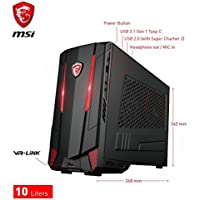 MSI NightBlade MI3 Intel Core i7-7700K 4.2GHz/2TB 7200RPM + 1TB Solid State Drive/32GB DDR4 SDRAM/Nvidia GeForce GTX 1080 8GB GDDR5X Graphics/Windows 10 Mini-ITX Gaming Desktop