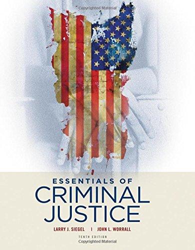 1305633768 - Essentials of Criminal Justice