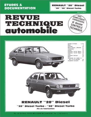 Rta 409.4 Renault 20 d-turbo d - 30 turbo d (80/84): Amazon.es: Etai: Libros en idiomas extranjeros