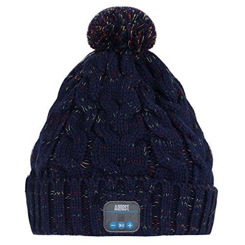 AUGUST EPA30L Wireless Bluetooth Beanie Hat Cap with Musi...