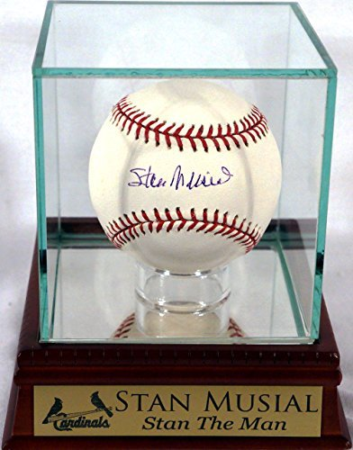 "St. Louis Cardinals Stan Musial Autographed Official MLB Baseball w/ ""Stan The Man"" Case"