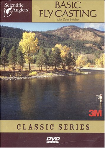 Scientific Anglers Basic Fly Casting DVD Video Fly Fishing Training Video Guide, Outdoor Stuffs