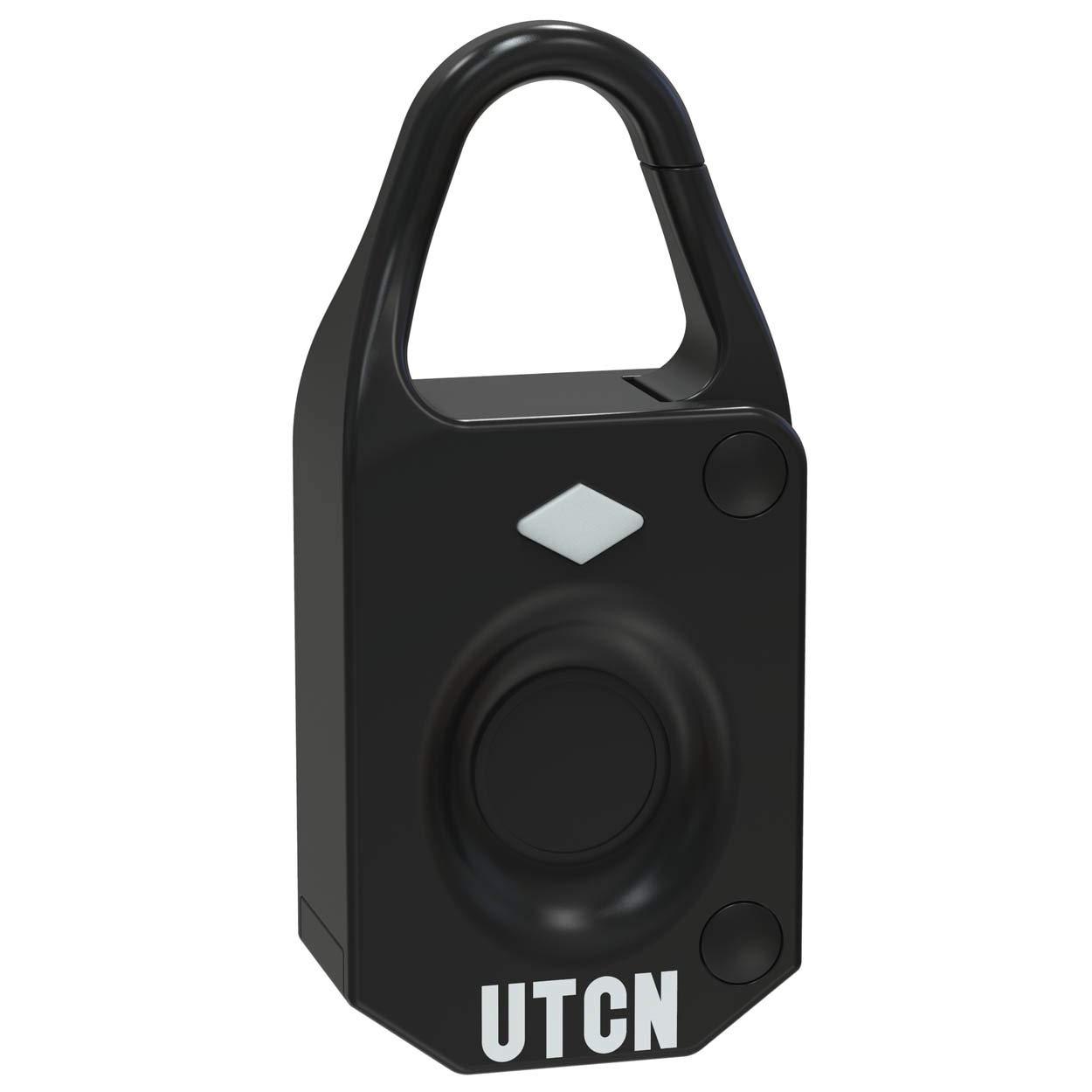 fb13a5612 UTech Mini Candado Huella Dactilar, Candado Maleta, Bloqueo Biométrico, sin  necesidad de Llaves