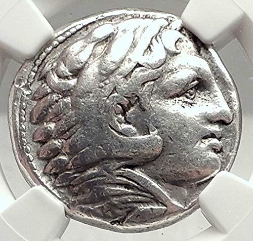 Greek Ancient Coin Tetradrachm Silver - 325 GR ALEXANDER III the GREAT Lifetime TETRADRACHM 325B Tetradrachm Ch F NGC