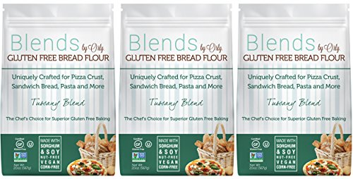 ustom Blended Gluten Free Bread Flour - Blends By Orly - Tuscany Blend - Gluten-free Baking Flour for Breads, Pizza Crust, and Pasta 60ozs