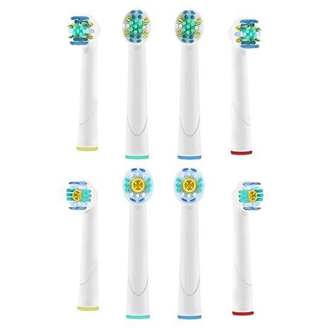 Diamondsmile Cabezales para cepillo de dientes eléctrico para Braun Oral B Floss Action – Cabezales de