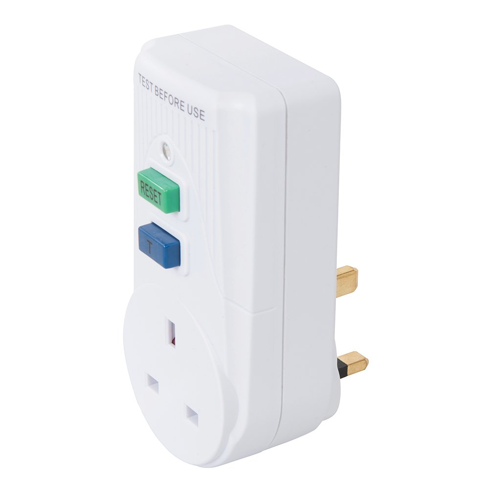Power Master 488700 Plug-in Active RCD 13A UK 230V~ 50Hz, White