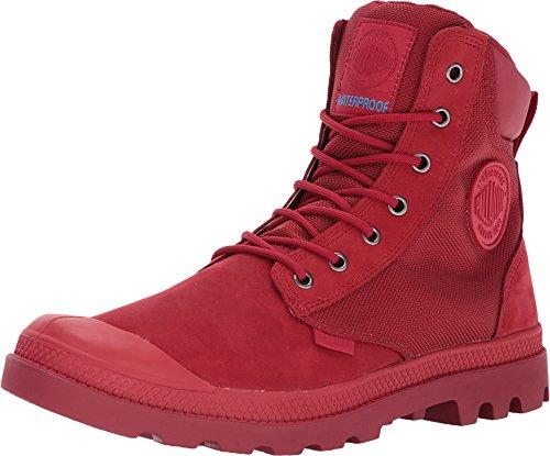 Palladium Unisex Pampa Sport Cuff WPN Chevron/Rio Red Boot