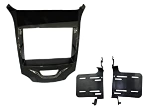 Scosche GM5219B 2016-Up Chevrolet Cruze ISO Double DIN Dash Kit with Pocket