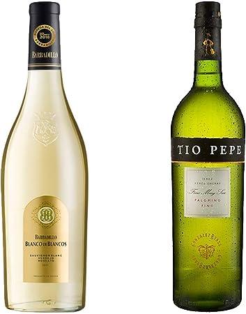 Blanco de los Blancos y Tío Pepe - Bodegas Barbadillo y Bodegas González Byass - 2 botellas de 750 ml